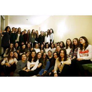 Residentes de la 26ª promoción de la R.U Rosaleda.