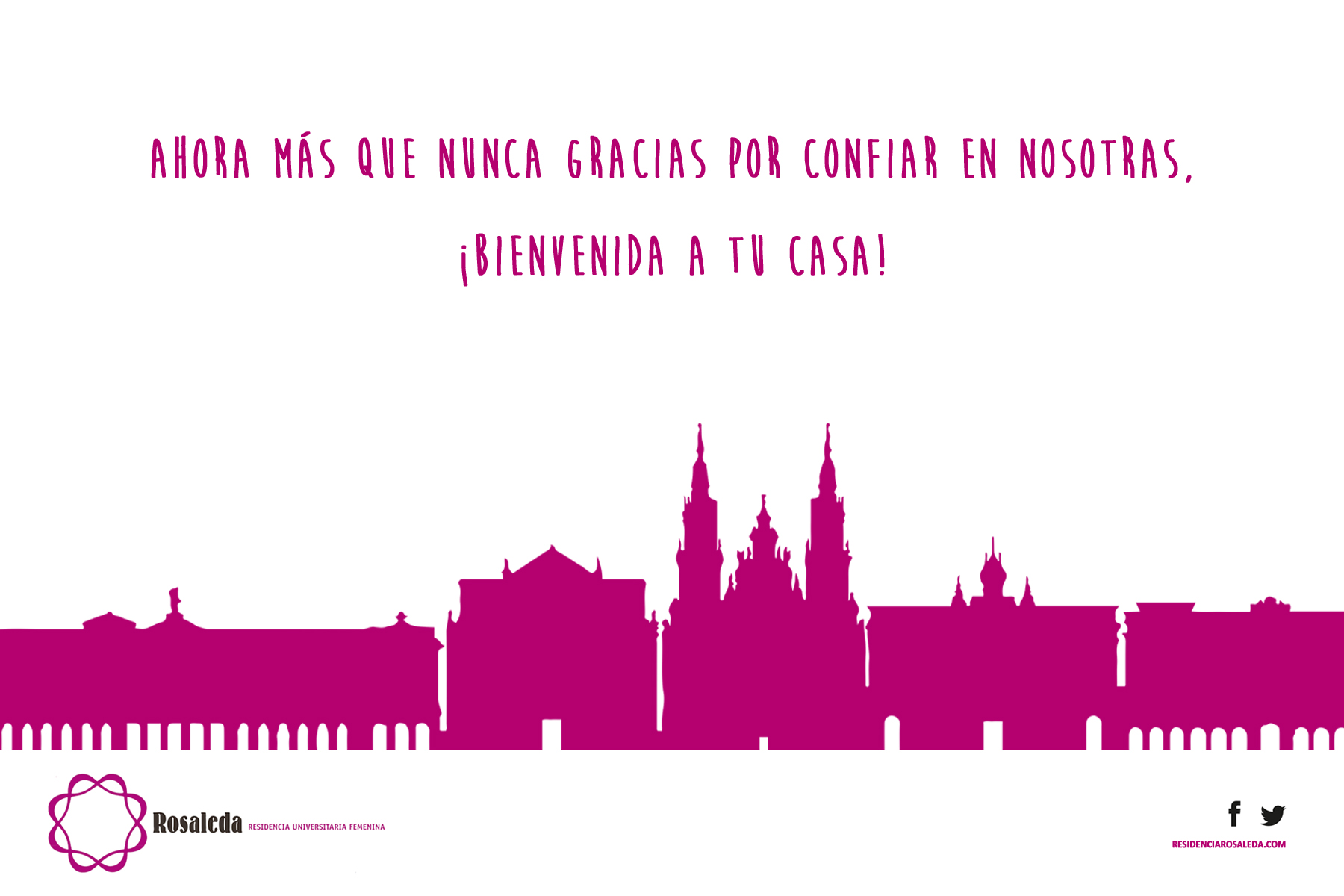 Bienvenida 30 Promoción R.U Rosaleda